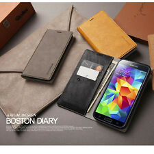 ARIUM Boston Diary Smartphone Case Wallet Cover For iPhone, Galaxy