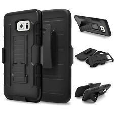 Shockproof Rubber Bumper and Plastic Cover For Samsung Galaxy Note4/5 S6/S7 Edge