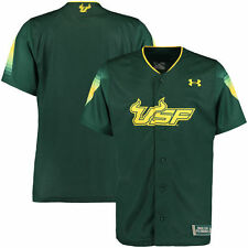 Under Armour South Florida Bulls Green Replica Baseball Performance Jersey