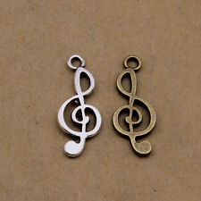 70pcs Tibetan Silver Note Charms,Alloy Vintage Letters Charms for jewelry making