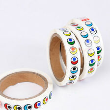 1 Roll of 15mm Eye Stickers Self-adhesive for DIY Dolls Bears Kids Crafts DIY