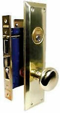 "ORIGINAL MARKS ENTRY METRO MORTISE LOCK SE1 2-1/2"" BS BRASS 91A"