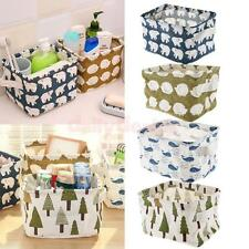 Desk Tidy Storage Box Bin Holder Batnroom Makeup Organizer Container Case Basket