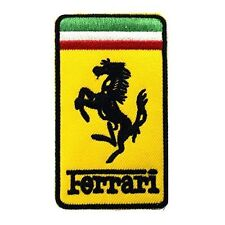 Graphic Dust Patch Ferrari Embroidered Iron on Patch ,Sew On Car Logo Clothes