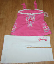 Juicy Couture baby girl summer top tunic & leggings 6-9-12 BNWT outfit designer