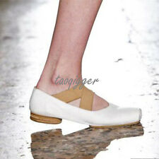 Retro Women Ballet Flats Size 4-11 Girls Fashion Casual Shoes Dating Party Shoes