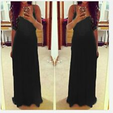 Sexy Women Spaghetti Strap Summer Cocktail Party Evening Gown Long Maxi Dress