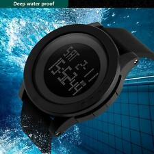 Luxury Men Military Sports Watch Waterproof LED Date Silicone Digital Wristwatch
