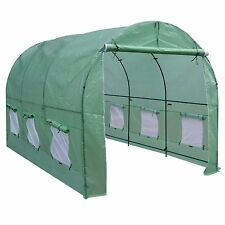 New Hot Green House 12'X7'X7' Larger Walk In Outdoor Plant Gardening Greenhouse