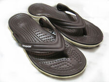 Crocs Duet Flip Espresso Mushroom Men Women All Size 4 5 6 7 8 9 10 11 12 13