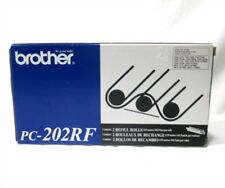 NEW Genuine Brother Fax OEM 2 Pack Refill Rolls PC-202RF 1170 1270 1270E 1570MC