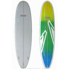 Surfboard Fibreglass Mini Mal Surfboard SUNRIDE green aztech