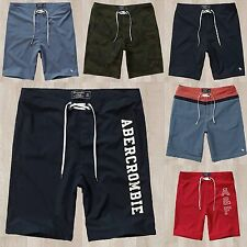 Nwt Abercrombie & Fitch By Hollister Mens Board Fit Swim Shorts