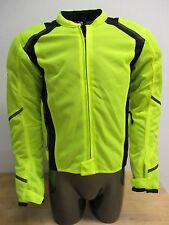 Firstgear Mesh Tex Motorcycle Jacket DayGlo Small SM 515781