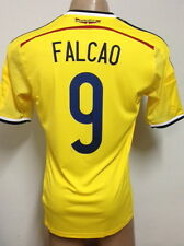 NEW !!! ORIGINAL WORLD CUP 2014 COLOMBIA HOME SOCCER JERSEY FALCAO #9