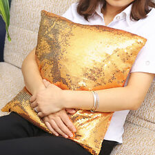 42x42cm Sequins Decoration Cushion Comfortable Pillow Covers Cases Throw Sofa
