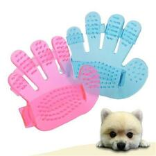 Hand Pet GROOMING Glove Massager Brush-Removes hair Cats,Dogs,Pets Charity J
