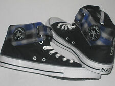 Mens CONVERSE CT LOOPBACK MID Black Canvas Trainers 131260C UK 7.5 EUR 41