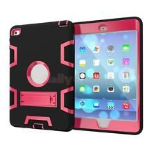 Heavy Duty Rubber With Hard Stand Case Protector for iPad Air 2 /ipad 6