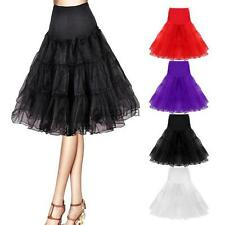 No-hoop A-line 50s Underskirt Swing Wedding Formal Party Fancy Net Petticoat