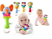 Lovely Baby Kid Soft Animal Model Rattles Handle Developmental Toy