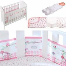 Breathable Baby Cot Liner/ Bumper  Matching Cot/ Cot Bed Sheets/ Blanket/Swaddle