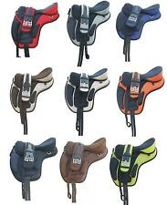 "Freemax Synthetic Treeless Saddle 16"" 17"" 18"" @ discounted price Sale horse sale"