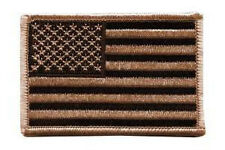US Flag Patch Desert Tan