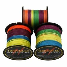 Hercules Color 100M-2000M 6lb-300lb Spectra PE Dyneema 4S&8S Braid Fishing Line