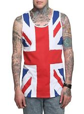 United Kingdom UK FLAG UNION JACK Def Leppard Tank Top NEW