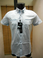 MEN'S SHIRTS SLIM ANTONY MORATO MS3330 ART. COLOUR SAPPHIRE