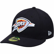 New Era Oklahoma City Thunder Navy Low Profile 59FIFTY Fitted Hat