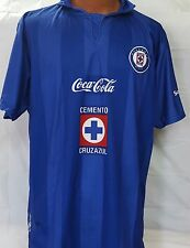 New! Liga MX Club Deportivo Cruz Azul Blue Jersey XL