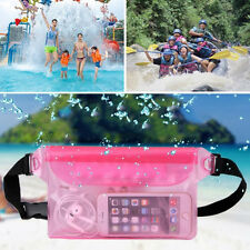 Waterproof Bag Underwater Pouch Waist Pack Swimming Dry Case For Cell Phone JB