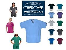 CHEROKEE (CH020) 4700  Scrub Tunic  V Neck  Nurses/Dental/Vet Top XXS to 3XL