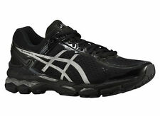 NEW MENS ASICS GEL-KAYANO 22 RUNNING SHOES TRAINERS ONYX / SILVER / CHARCOAL