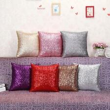 Shining Sequins Sofa Bed Square Pillow Cushion Cover Case Throw Home Decor Gift