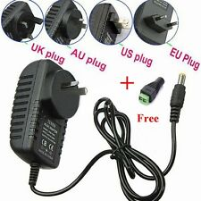 12V  2A 110-240V  AC DC POWER SUPPLY ADAPTER CHARGER FOR 3528/5050 LED Strip Hot