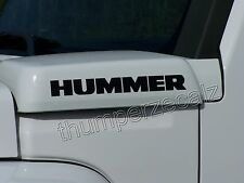H2 HUMMER H3 HUMMER Decals/Stickers 4 Decals (fits:Hummer H3)