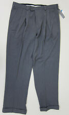 Perry Ellis Double Pleated Melange Dress Pants - Grey Heather - NWT