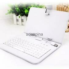 Fashion 7 inch 8 inch Tablet PC Case Micro with PU Leather Keyboard Cover