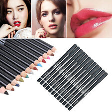 Make Up Cosmetic Eyeliner Glitter Lip Liner Eye Shadow Pencil Labial Line Pen CN