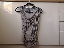Karen Millen neutral Tie Dye Vest Top UK 8