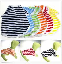 Pet Apparel Puppy Vest  Summer 6 Colors Shirt  Small Dog Cat T- Shirt  Clothes