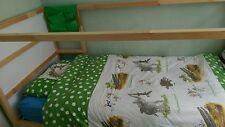 Ikea KURA reversible bed low or midi sleeper in white less than 6 months old