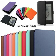 For New Amazon Kindle 6 Magnetic Ultra Slim Leather Smart Case Cover Skin