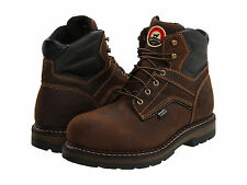 """RED WING Mens Irish Setter 6"""" Waterproof Soft Toe Work Boots Brown Leather 83601"""