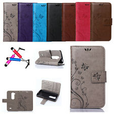 New Magnetic PU Leather Flip Wallet Card Stand Case Skin Cover For LG Optimus