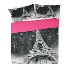 Paris by Night Bedding Duvet Cover Set, Single, double, King Size.(A)