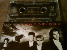 Duran Duran Notorious 1986 US Cassette -discounted shipping if you buy 2 or more